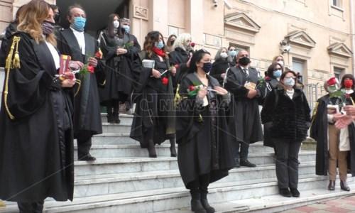 La protesta di oggi a Palmi