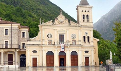 Il santuario della Madonna del Pettoruto, simbolo di San Sosti