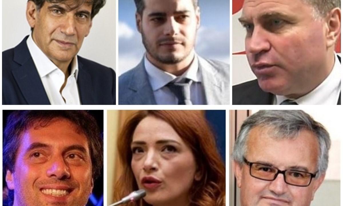 Carlo Tansi, Riccardo Tucci, Giuseppe Graziano, Nicola Fiorita, Jasmine Cristallo, Nino De Masi