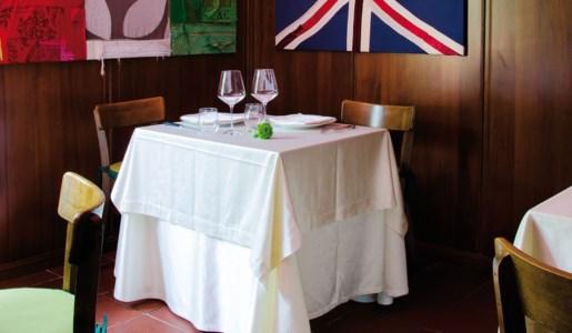 La sala del ristorante La locanda di Alia