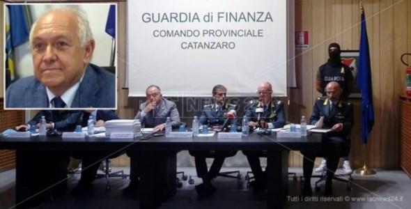 La conferenza stampa dopo la maxioperazione Imponimento e nel riquadro Stillitani