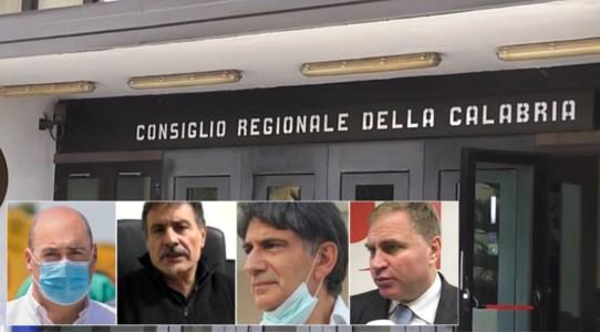Nicola Zingaretti, Nicola Oddati, Carlo Tansi e Stefano Graziano