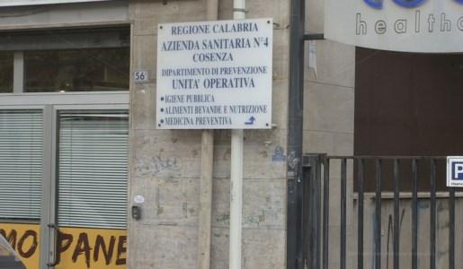 La sede dell'Unità operativa di Igiene pubblica dell'Asp di Cosenza