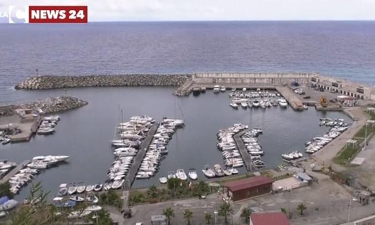 Il porto turistico di Palmi