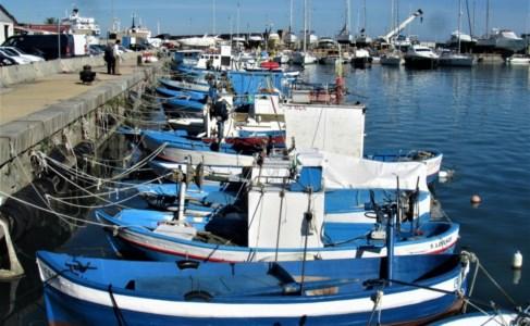 Imbarcazioni della marineria di Schiavonea