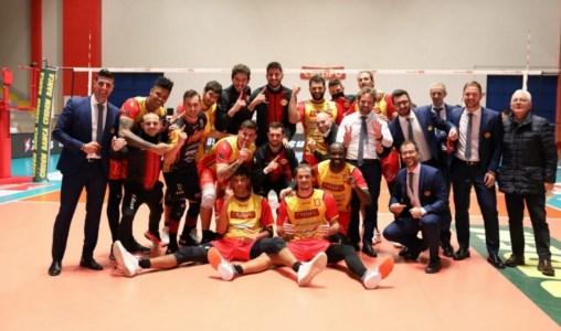La Tonno Callipo sorride ancora: al PalaMaiata vince su Cisterna per 3-0