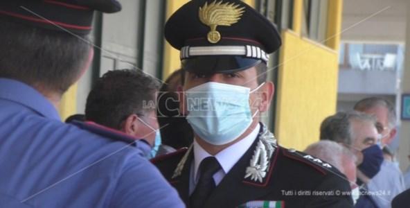 Il capitano della Compagnia dei carabinieri di Scalea, che ieri ha condotto l'operazione Re Nudo