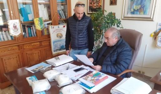 Il sindaco Catapano ed il vice sindaco Prioli