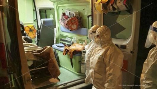 Focolaio Covid nell'rsa di Feroleto, un nuovo ricovero all'ospedale di Lamezia