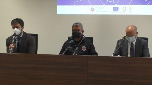 Pietro Bellantoni, Nino Spirlì e Maurizio Nicolai