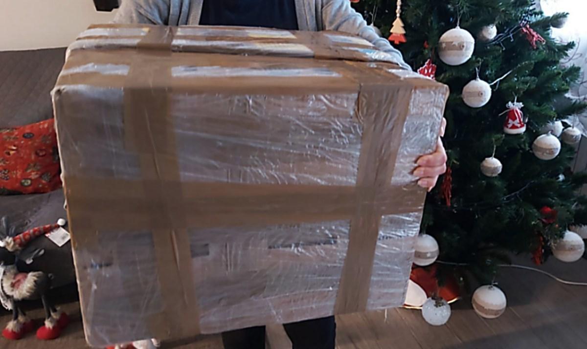 Il pacco arrivato da giù