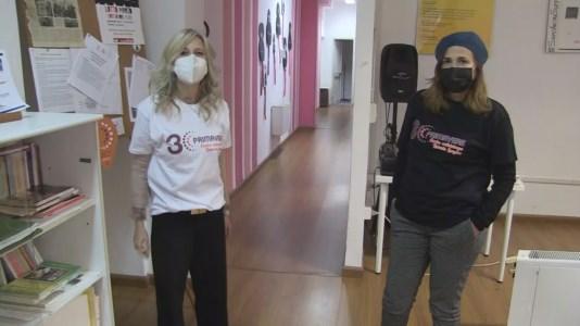 Chiara Gravina e Roberta Attanasio del Centro antiviolenza Roberta Lanzino