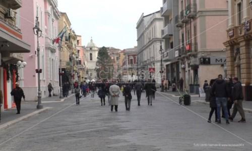 Corso Vittorio Veneto a Crotone