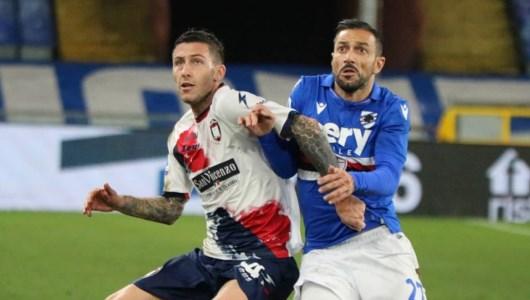 Serie A, Crotone sconfitto in casa della Sampdoria: al Marassi finisce 3-1