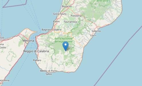Forte terremoto a Reggio Calabria, magnitudo 3.9 ed epicentro a Roccaforte del Greco