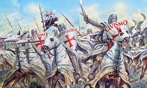 """La bigotta """"guerra santa"""" del civismo contro il male"""
