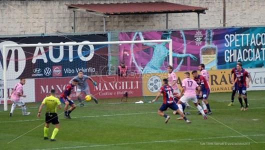 Lega Pro, la Vibonese pareggia in casa contro il Palermo