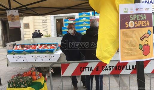 Spesa sospesa a Castrovillari, l'iniziativa Coldiretti per le famiglie in difficoltà