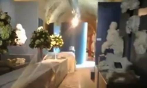 Il Mumar allestito per le nozze