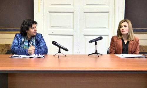La giornalista Tiziana Bagnato e la psicologa Anna Fazzari