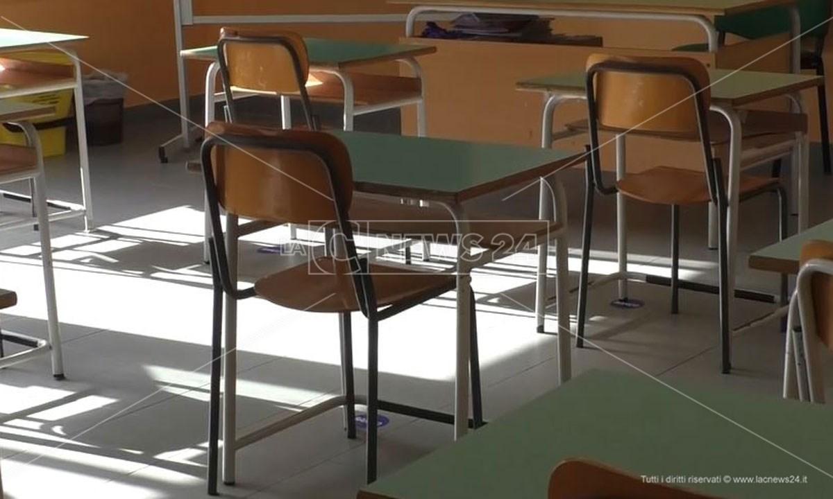 Un'aula vuota