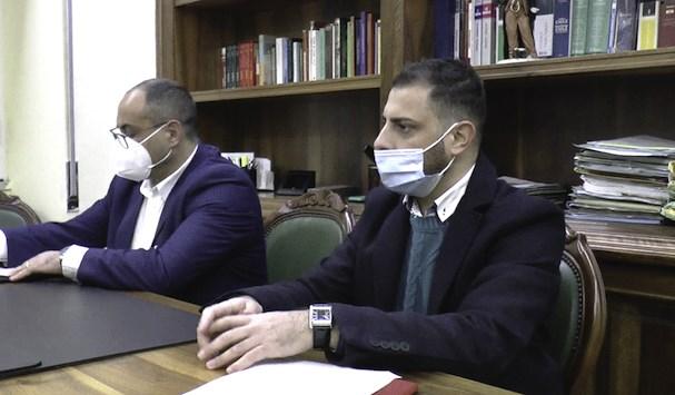 Leonardo Lucente e Andrea Renne