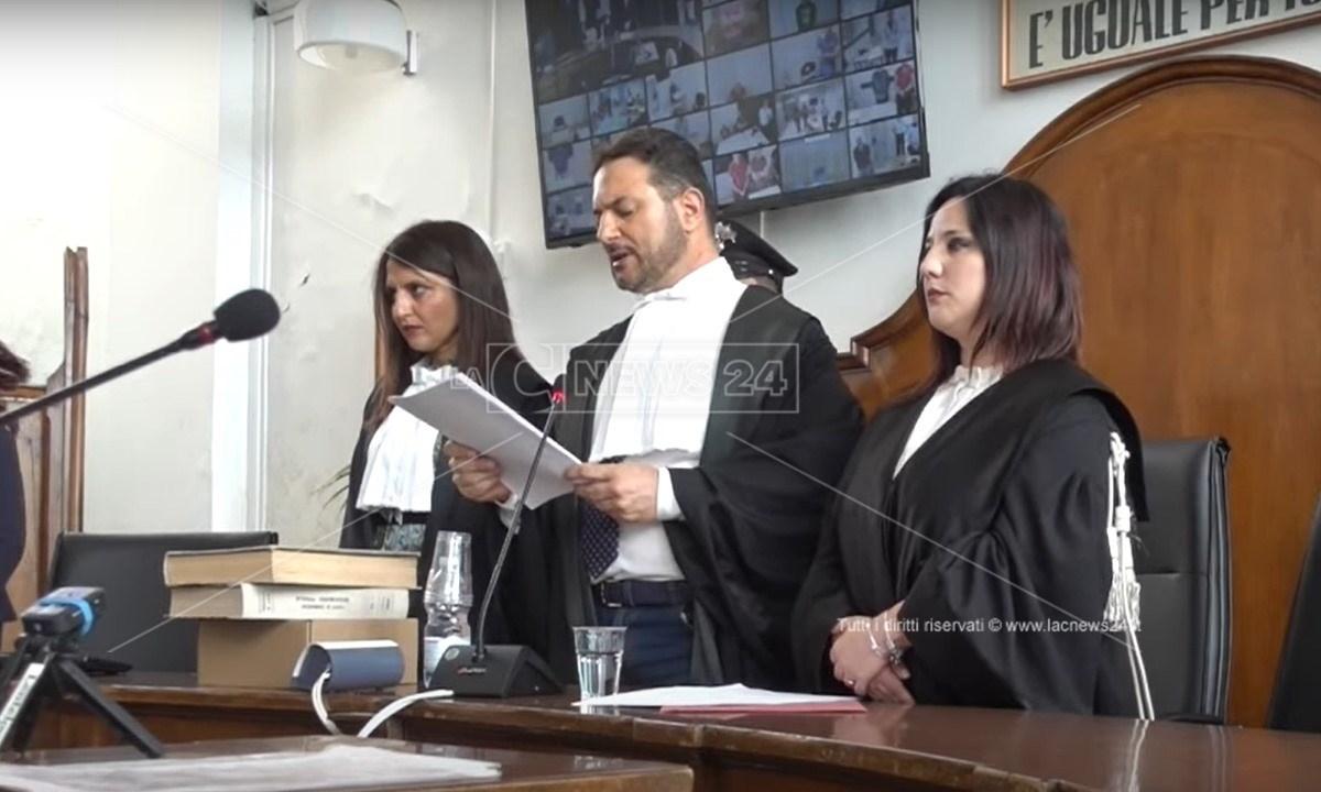 Il Tribunale di Locri presieduto dal giudice Accursio