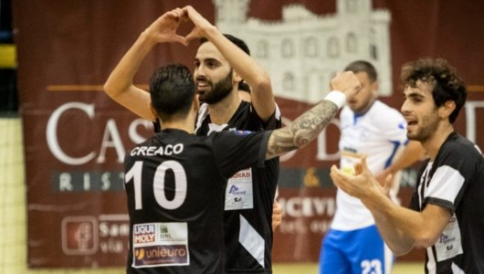 foto dalla Pagina Facebook del Futsal Polistena
