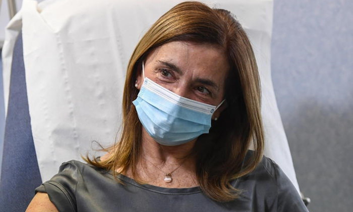 L'infermiera Lucia Premoli - foto ansa