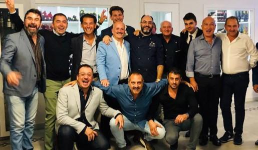 Alcuni dei soci fondatori in una foto di repertorio