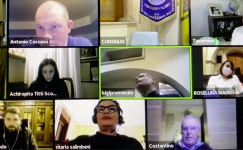 Consiglio comunale in sessione telematica