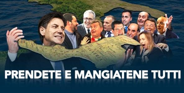 La Calabria mangiata dal peggior ceto politico: che il 2020 se lo porti via, rinasceremo!