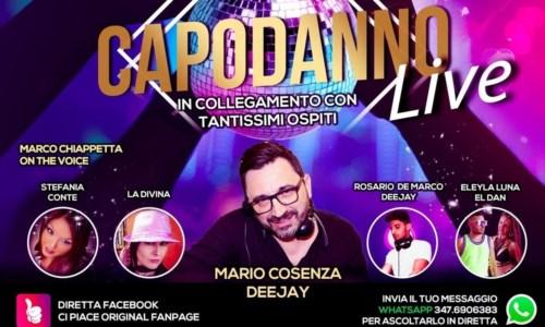 Capodanno Live in Calabria, ecco l'evento virtuale per festeggiare il nuovo anno
