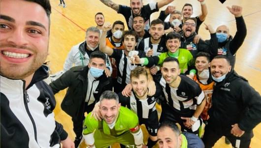 Il selfie vittoria del Polistena in Sicilia