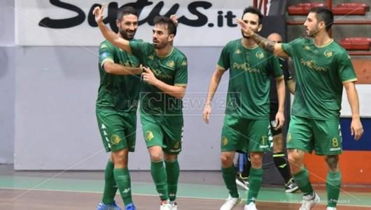 Serie A2 Futsal, Cosenza a valanga: in casa del Cataforio i lupi vincono 7-1