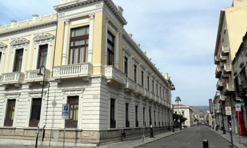 La sede della Città metropolitana