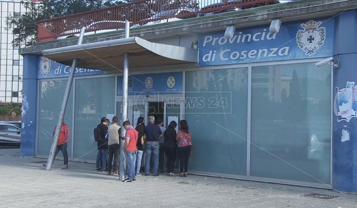 Il Centro per l'Impiego di Vaglio Lise a Cosenza