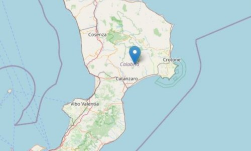 Terremoto di magnitudo 2.4 nel Catanzarese: nessun danno segnalato