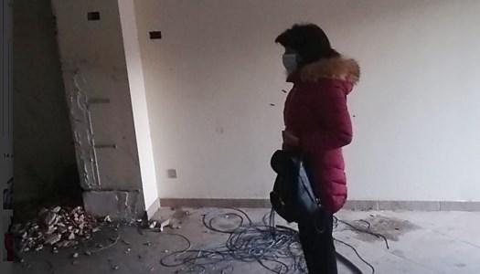 Polistena, devastata la sede Anpi. Il presidente: «Danni anche alle pareti per rubare materiale»