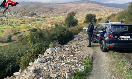Smaltimento illecito di rifiuti, denunciato un imprenditore nel Cosentino
