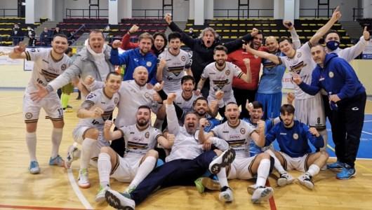 La gioia del Futsal Napoli