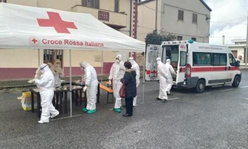 Foto dalla pagina Fb della Croce rossa di Vibo