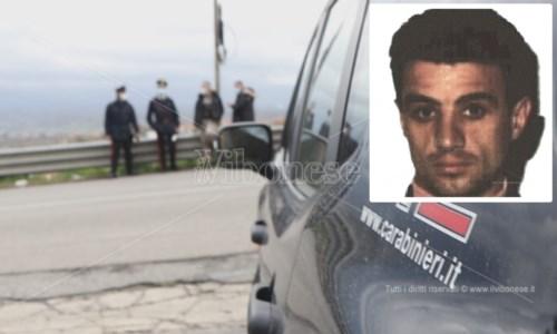 I carabinieri sulla Vibo-Stefanaconi. Nel riquadro Filippo Gangitano