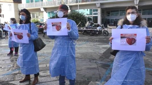 Dipendenti del Sant'Anna Hospital in agitazione