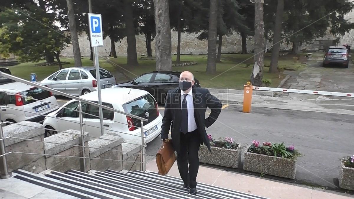 Il commissario straordinario dell'azienda ospedaliera Pugliese Ciaccio, Francesco Procopio