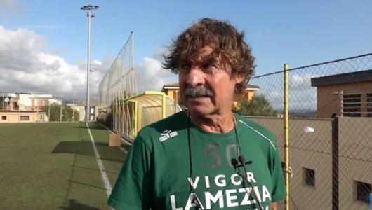 L'allenatore della Vigor Lamezia Massimo Morgia