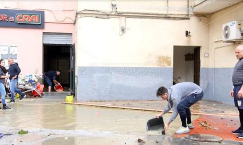 Crotone, da Confcommercio 167mila euro per le imprese alluvionate