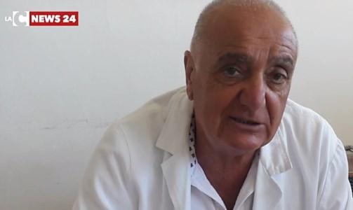 Il direttore sanitario Vincenzo Cesareo