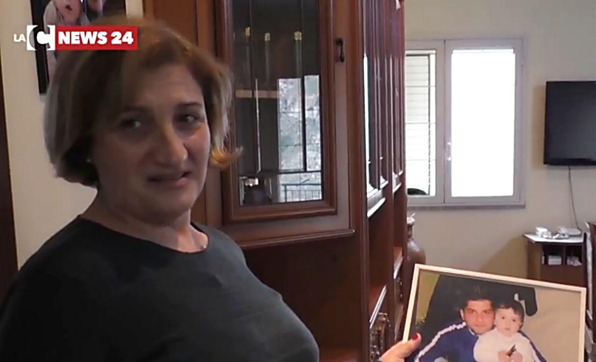 Caterina Barillà, mamma di Giuseppe Sorgonà ucciso nel 2011 a Reggio Calabria