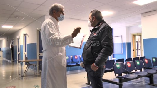 L'infermiere e sindacalista Rubino